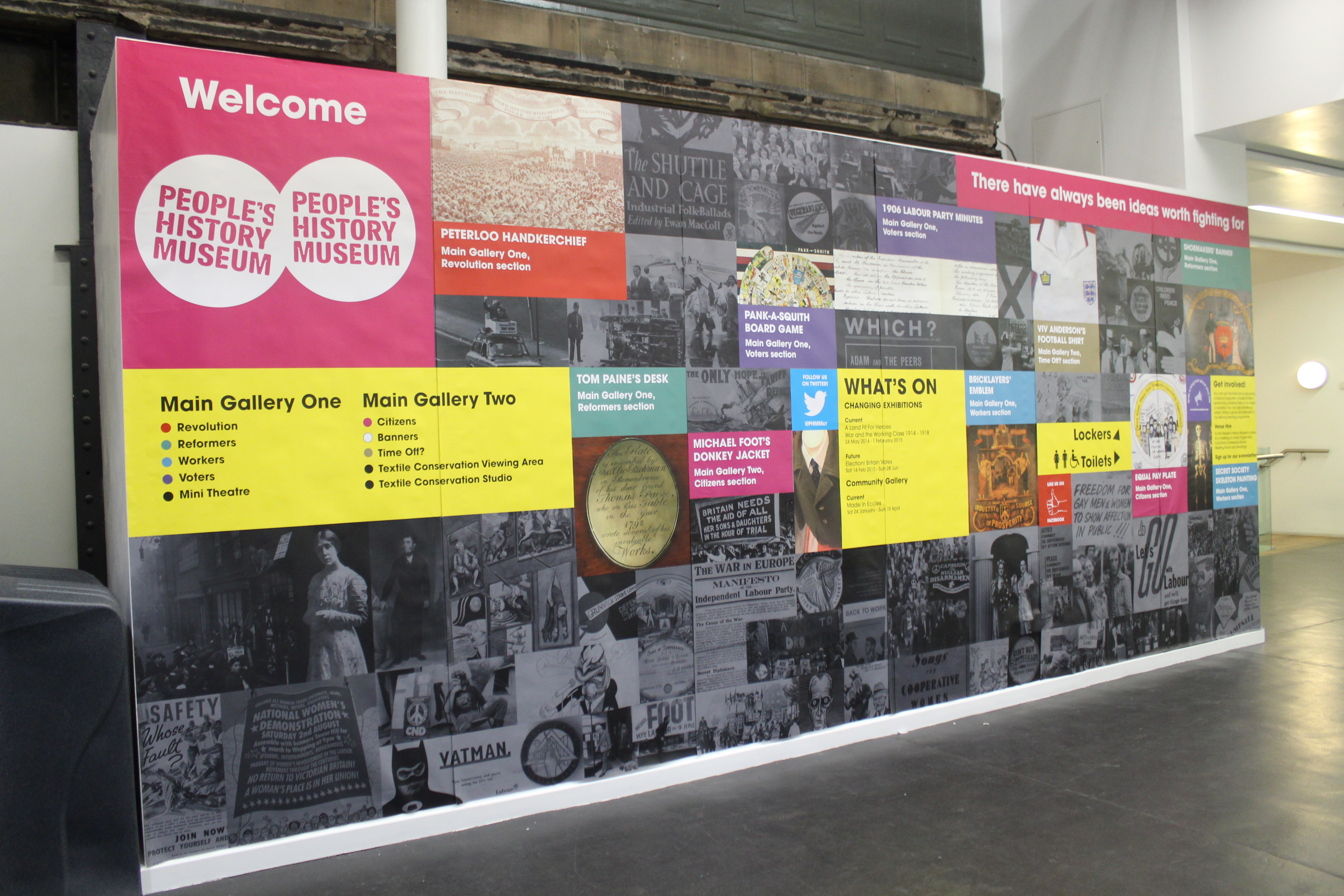 welcome wall phmmcr
