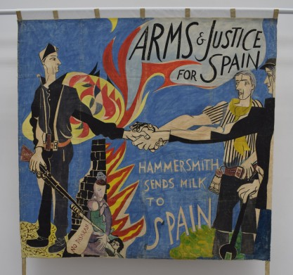 Arms & Justice for Spain after conservation People's History Museum